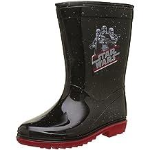 Star Wars Boys Kids Rainboots Boots, Botas de Agua para Niños