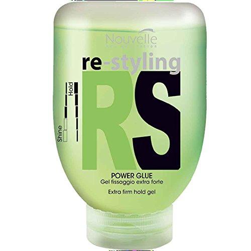 Nouvelle RS Power Glue Flubber Haargel 150 ml Intensives Haargel für ultra-starken Halt & Glanz 150 ml