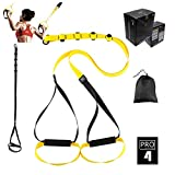 O RLY Sangles de Suspension - Bodyweight Fitness Resistance Straps Trainer (P3 Pro 4)...