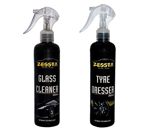 zessta glass cleaner & tyre dresser (250 ml) Zessta Glass Cleaner & Tyre Dresser (250 Ml) 41svG9h7l2L