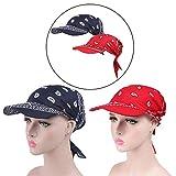 whatUneed Anti-UV Sun Protection Sun Cap, Women's Wide Brim Visor Turban Gorra de béisbol, Golf Sun Visor Hat para Deportes al Aire Libre