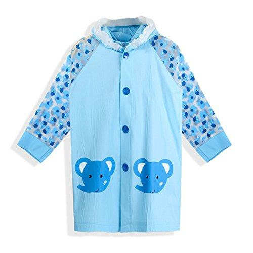 Enfant imperméable bébé poncho à capuchon couverture de sac d'école imperméable en plein air de bande dessinée étudiants vêtements de pluie pour 0-14 ans garçon fille