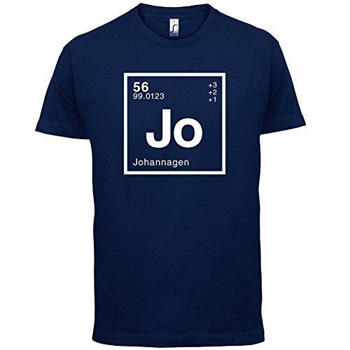 Johanna Periodensystem - Herren T-Shirt - 13 Farben Navy