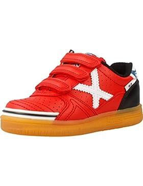 Munich G-3 KID VCO PROFIT 729 - Zapatillas de fútbol sala, Unisex infantil, Rojo - (Rojo)