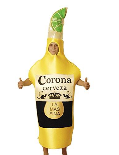 Bierflasche Kostüm für Erwachsene, Karneval Halloween - Einzigartige - Einzigartige Für Kostüme Erwachsene