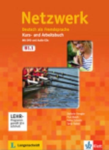 Netzwerk. B1.1. Kursbuch-Arbeitsbuch. Con CD Audio. Per le Scuole superiori. Con DVD-ROM