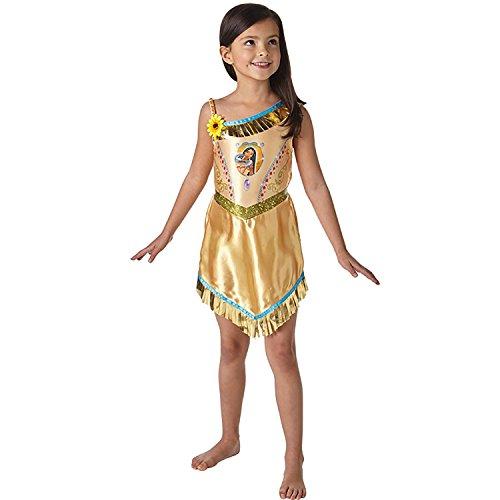 Krause & Sohn Rubie`s Kinder Kostüm Indianerin Pocahontas Kleid Fairytale Legende Fasching Karneval (5-6 Jahre) (Kostüm Pocahontas Kind)