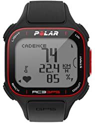 POLAR GPS Pulsmesser RC3 N Bike, black, 90048180