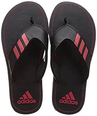 Adidas Men's Coset Ii Cblack/Scarle Slippers-7 UK (40 2/3 EU) (7.5 US) (CM0040)
