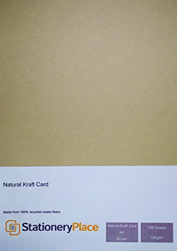 papeleria-lugar-marron-reciclado-papel-kraft-natural-a4-100-g-m-100-unidades