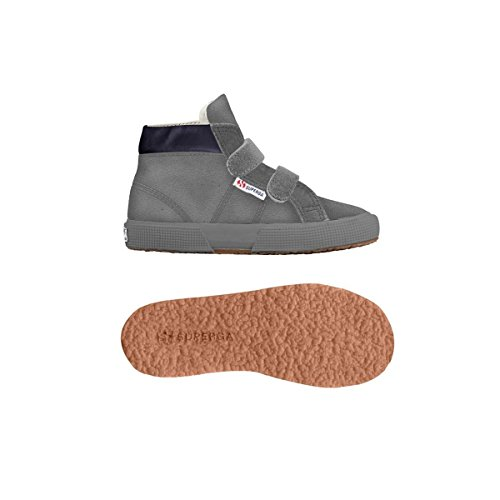 Superga , Baskets mode pour garçon Full Grey Mineral