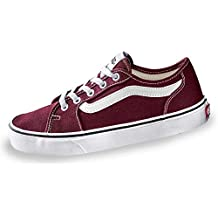 vans old skool donna platform bordeaux