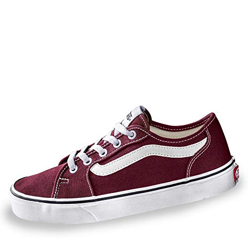 Vans Damen Filmore Decon Sneaker Rot ((Canvas) Port Royale/True White Mc0) 41 EU