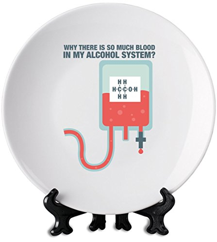 why-there-is-so-much-blood-in-my-alcohol-system-white-plate-premium-ceramics-personalized-dish-print