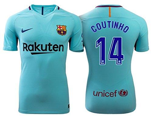 Trikot Kinder FC Barcelona 2017-2018 Away - Coutinho 14 (152) (Nike Trikot Away Barcelona)