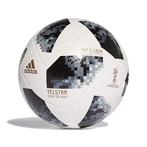 Adidas Top Glider - Balón de fútbol Talla 3, 2 a 8 años, Color Blanco y Negro