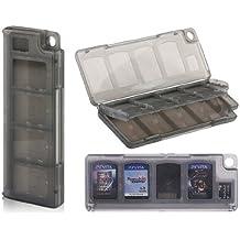 10 en 1 Juego Tarjeta Caja de almacenamiento para el PSV / PSV 2000 (Negro)