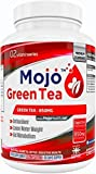 MOJO™ GREEN TEA - Extract Capsules | Natural Appetite Suppressant For Weight Loss | Antioxidant Supplement | Gentle Caffeine Source For Energy | Brain & Heart Health Pills | Fat Burner + Money Back Guarantee