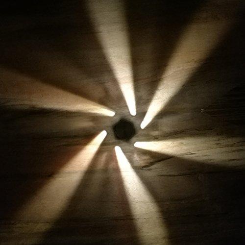 LED Deckenleuchten Innen Wandleuchten Wand für Kinder lèche-murs Dekoration Lampen 3W AC85–245V warmweiß