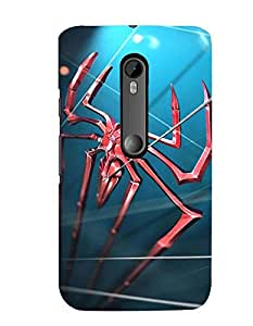Citydreamz Spider/Web/Insects/Wild Hard Polycarbonate Designer Back Case Cover For Motorola Moto X Play (Moto XP)