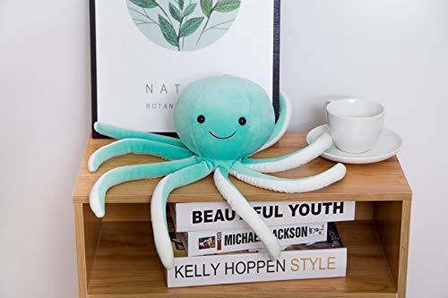 Yuhualiyi123 Kreative Nette Octopus Plüsch Kissen Octopus Whale Dolls & Stofftiere Plüsch Kleine Anhänger Meerestier Spielzeug Kinder Baby Geschenke (Color : Blue, Size : 30cm)