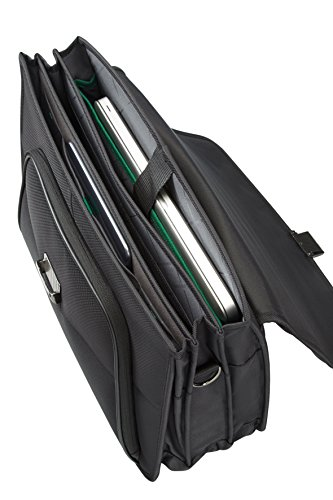 Great Buy for Samsonite Desklite briefcase, 42 cm, 15 L, Black on Amazon