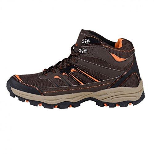 HSM, Chaussures montantes pour Homme Marron