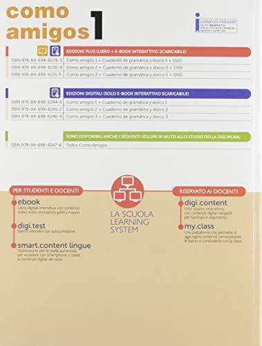Como amigos. Cuaderno de gramatica y lexico. Per la Scuola media. Con e-book. Con espansione online. Con CD-ROM: 1