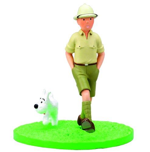 Tintin Explorateur Coffret Scene Plastique 1