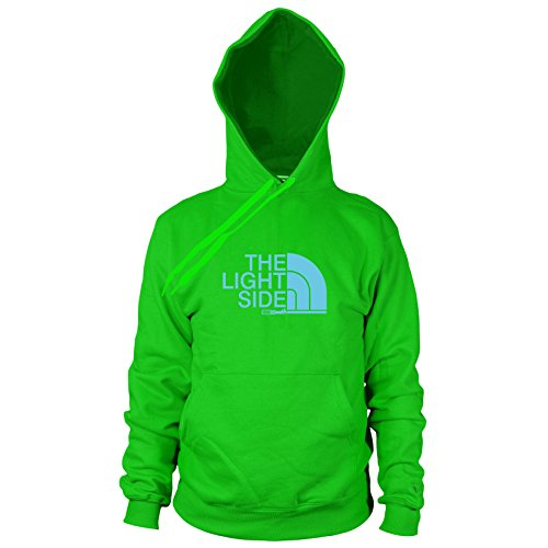 Kostüm Ideen Kinder Nerd (The Light Side - Herren Hooded Sweater, Größe: S, Farbe:)