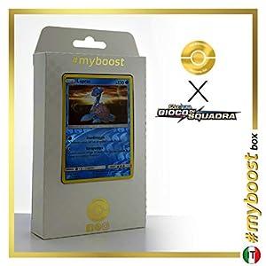 Lapras 31/181 Holo Reverse - #myboost X Sole E Luna 9 Gioco di Squadra - Box de 10 Cartas Pokémon Italiano