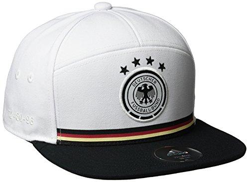 adidas Mütze DFB legacy kappe Fußball, Weiß/Schwarz, OSFM, AH5731 (Running-cap Adidas)
