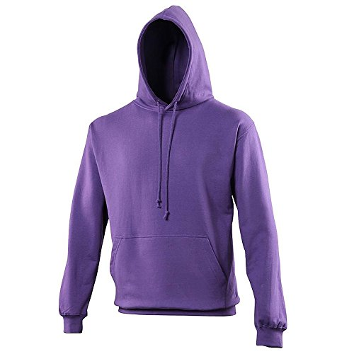 Pullover College Hoodie - 46 Different Colours Available Purple