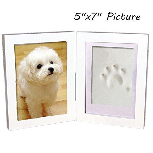 Haosen 5x7 Wooden Pet Memorial Photo Frames Hanging Picture Frames ...