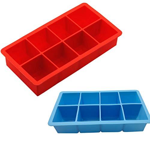 Eiswürfelschale,Rifuli®Schimmel Partei-spezieller Eiswürfel-kreative Haushalts-Nahrungsmittelgrad-Silikon-Eiswürfelschale