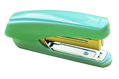Desktop-Hefter-blaue Farbe mit Heftklammer-Entferner (Polster Hefter)