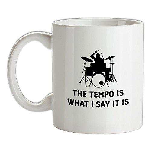 Ich gebe das Tempo an - Bedruckte Kaffee- und Teetasse