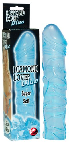 Jelly-Dildo - Diamond Lover blue