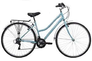Activ by Raleigh Womens Hybrid City Bike - Blue, 28-inch Wheel, 17 Inch Frame