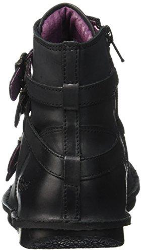Kickers Waxing, Bottes Classiques Femme Noir
