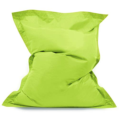 Hi Kids Bagz Sitzsack 4-Wege-– Liege, lime grün Sitzsäcke Outdoor Sitzkissen–100%...
