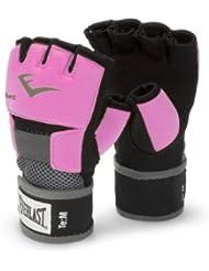 Everlast Ever-Gel - Guantes de boxeo para mujer (con gel), color rosa, talla S