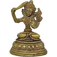 Sharvgun Annapurna MATA Statue en Laiton doré pour Temple Pooja Diwali/Cadeau de noël Bonne Chance pièce d'exposition…