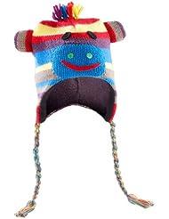 Bonnet Singe multicolore