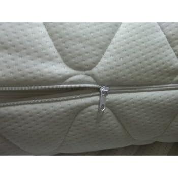 Outdoor matratzenbezug  Bazyl Matratzenbezug 90 x 200 cm. Matratzenschoner versteppt mit ...