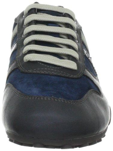 Geox Uomo Snake, Baskets mode homme Bleu (C4002)