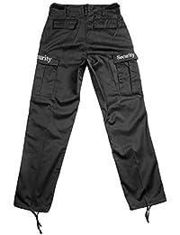 Security Ranger Hose, Armeehose, Army Hose, Cargo-Hose, Farbe: schwarz