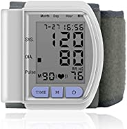 Force24 Automatic Electronic Wrist Blood Pressure Monitor Measure
