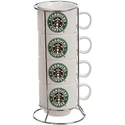 "Set 4 tazas ""Starbucks"" verdes"