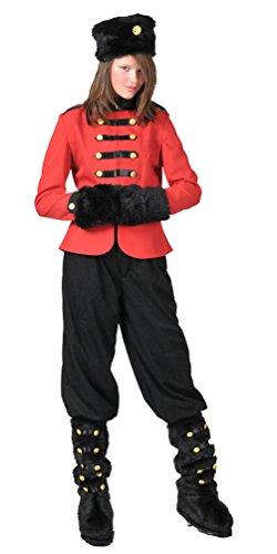 Kostüm Kosaken Für Erwachsenen - Karneval-Klamotten Kosaken-Kostüm Damen-Kostüm Russin Kostüm für Damen Größe 44/46